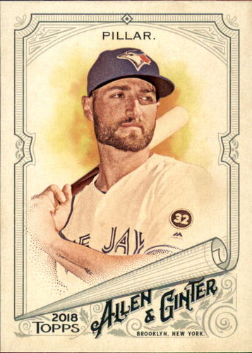 Photo of 2018 Topps Allen and Ginter #142 Kevin Pillar