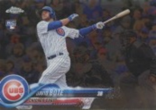 Photo of 2018 Topps Chrome Update #HMT15 David Bote RC
