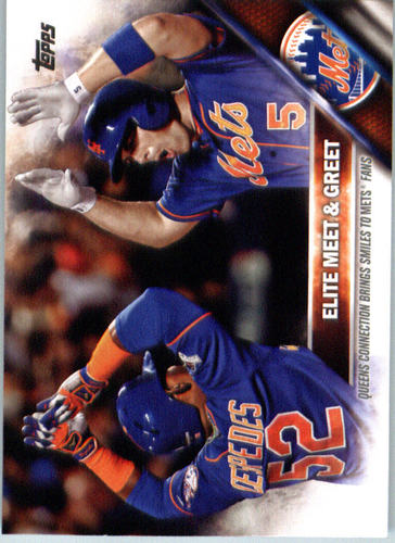 Photo of 2016 Topps #643 Yoenis Cespedes/David Wright/Elite Meet and Greet