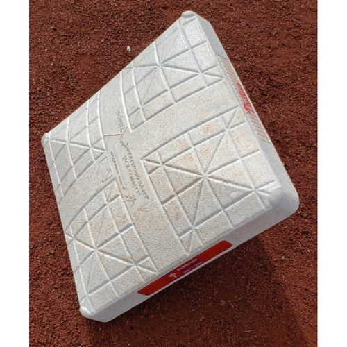 Photo of Game-Used 3rd base from Jimmy Rollins' 109th career triple