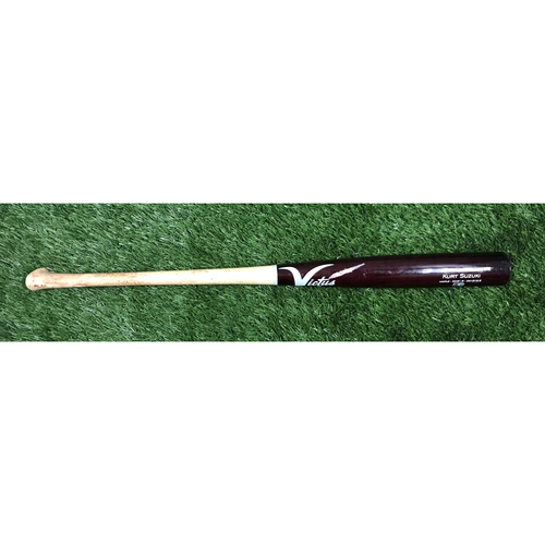 Photo of Game-Used Kurt Suzuki Broken Bat from NLCS Game 2
