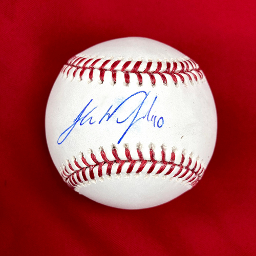 Photo of Jake Woodford Autographed Baseball