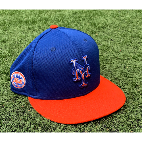 Photo of Team Issued Blue Hat - #13 - 2021 Spring Training