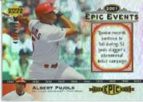 Photo of 2006 Upper Deck Epic Events #EE61 Albert Pujols