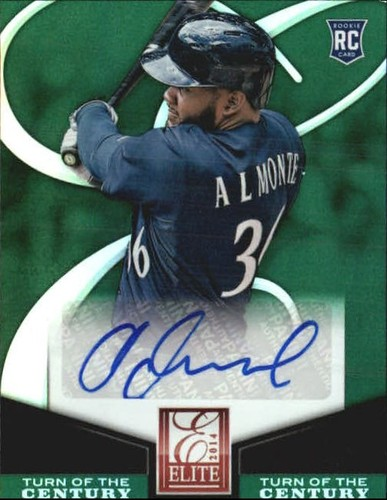 Photo of 2014 Elite Turn of the Century Autographs #82 Abraham Almonte