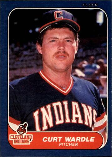 Photo of 1986 Fleer #600 Curt Wardle