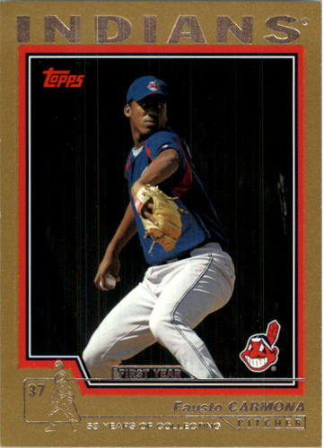 Photo of 2004 Topps Traded Gold #T124 Fausto Carmona FY