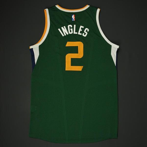 ... Joe Ingles - Utah Jazz - New Alternate Game-Worn Jersey - 20 ... 3856c6a14