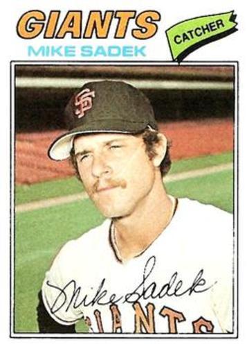 Photo of 1977 Topps #129 Mike Sadek