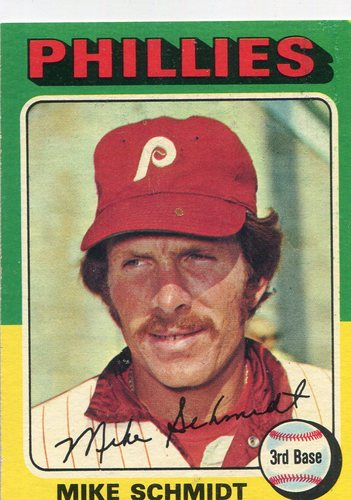 Photo of 1975 Topps #70 Mike Schmidt -- Hall of Famer