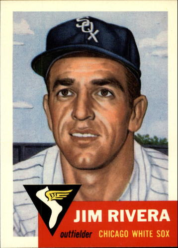 Photo of 1991 Topps Archives 1953 #156 Jim Rivera