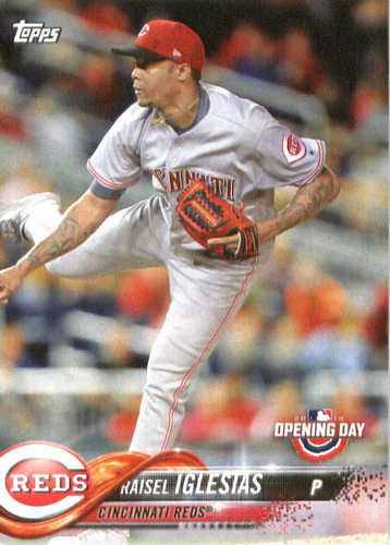 Photo of 2018 Topps Opening Day #32 Raisel Iglesias