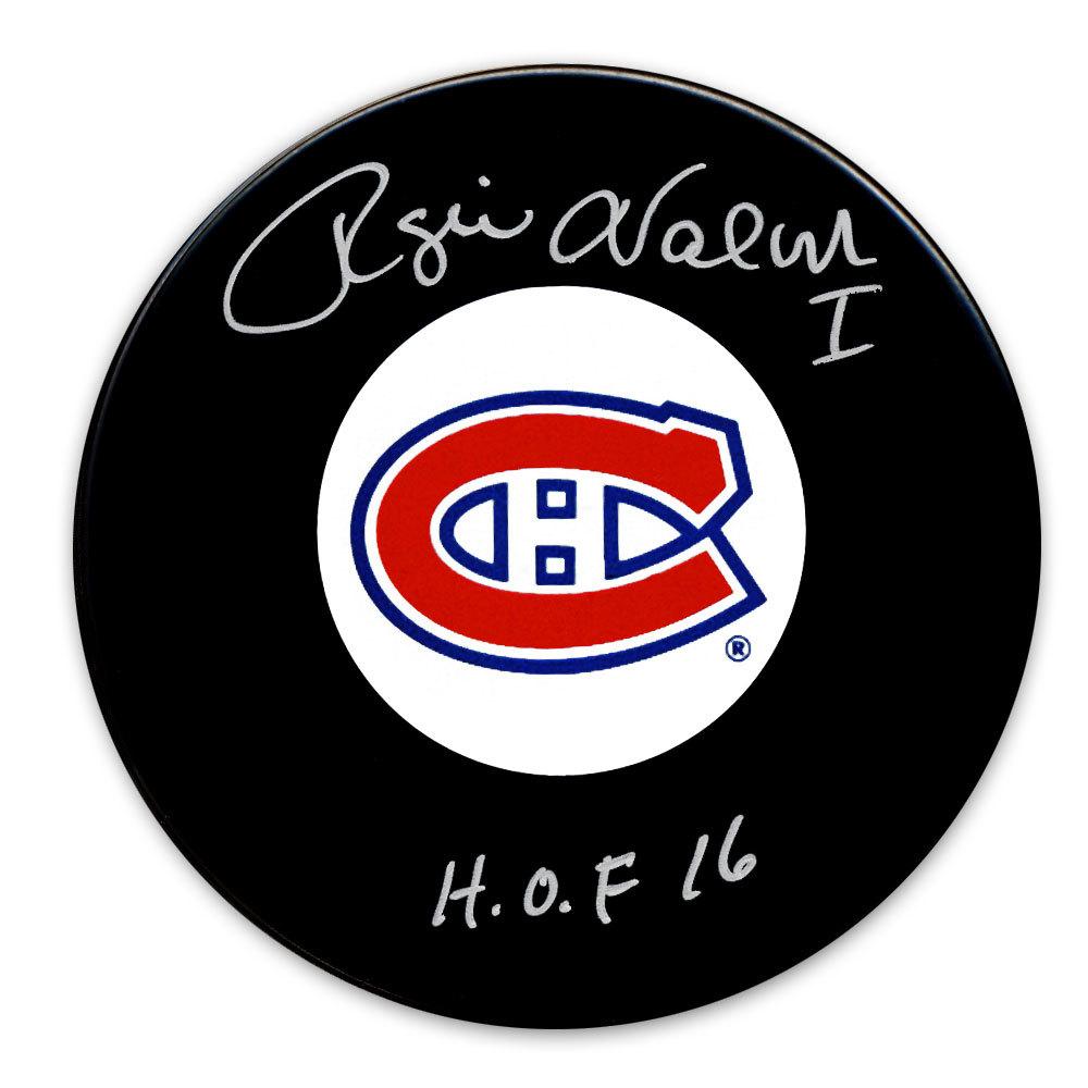 Rogie Vachon Montreal Canadiens HOF Autographed Puck