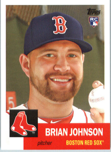 Photo of 2016 Topps Archives #56 Brian Johnson RC