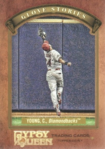 Photo of 2012 Topps Gypsy Queen Glove Stories #CY Chris Young