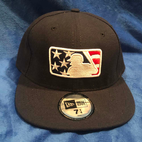 Photo of UMPS CARE AUCTION: MLB Specialty Stars and Stripes Umpire Base Cap, Size 7 1/4