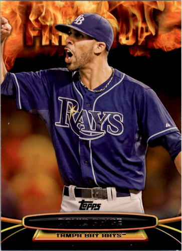 Photo of 2014 Topps Opening Day Fired Up #UP20 David Price