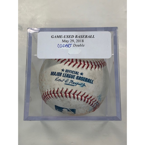 Photo of Game-Used Baseball: Zack Cozart Double