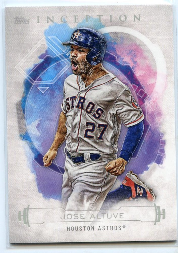 2019 Topps Inception #79 Jose Altuve