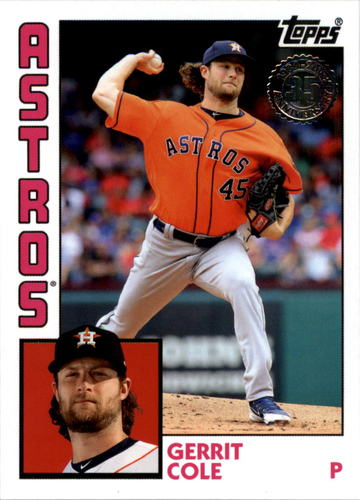Photo of 2019 Topps Update '84 Topps #844 Gerrit Cole