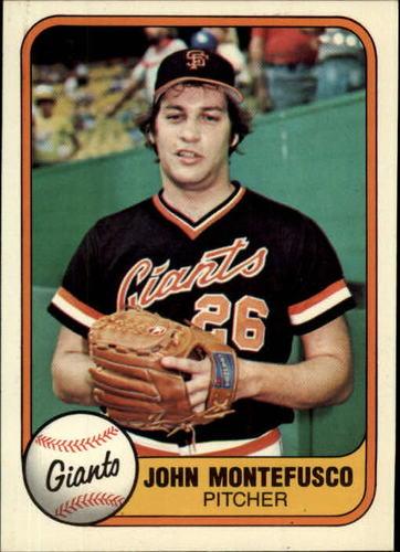 Photo of 1981 Fleer #439 John Montefusco