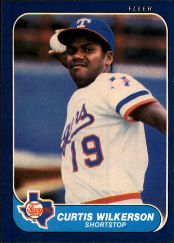 Photo of 1986 Fleer #577 Curtis Wilkerson