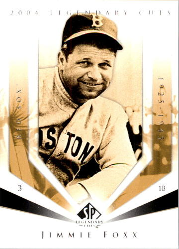 Photo of 2004 SP Legendary Cuts #55 Jimmie Foxx