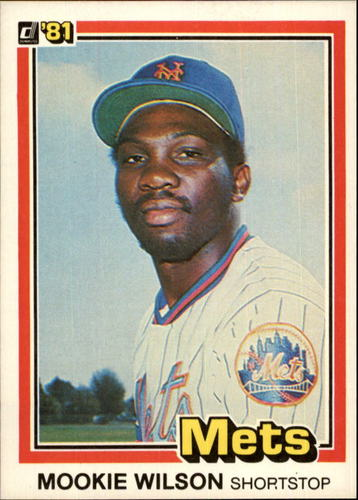 Photo of 1981 Donruss #575 Mookie Wilson RC
