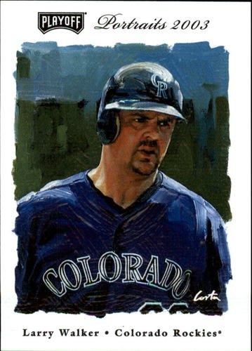 Photo of 2003 Playoff Portraits #96 Larry Walker