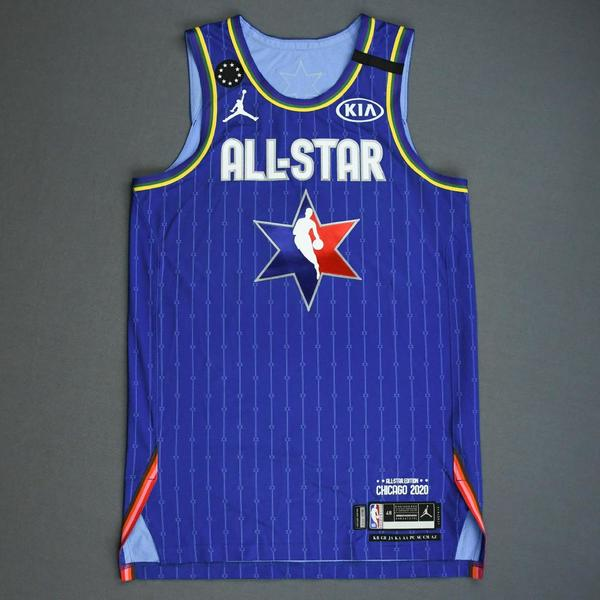 Image of Devin Booker - 2020 NBA All-Star - Game-Worn Jersey Charity Auction - Team LeBron - 1st and 2nd Quarter