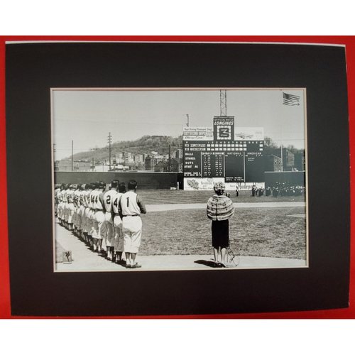 Photo of Matted Anthem at Crosley Field - 11x14