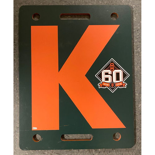 Photo of 2018 Team Issued Orange K Board