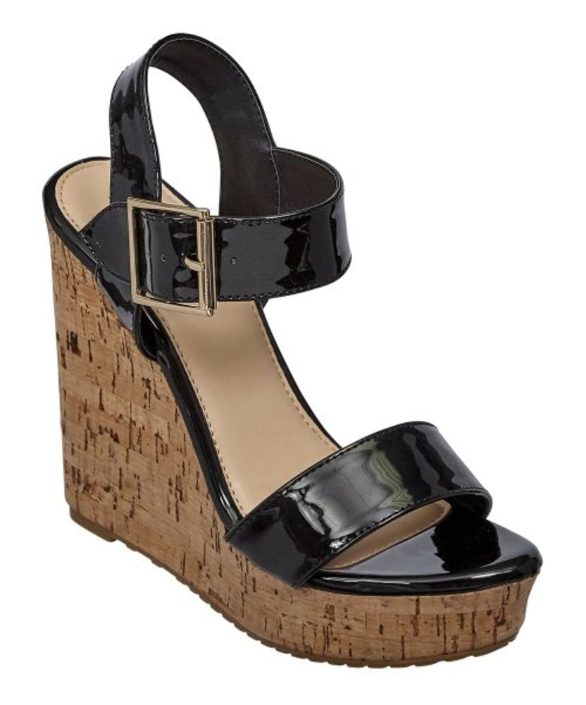 Photo of Pierre Dumas Strap Wedge Sandal