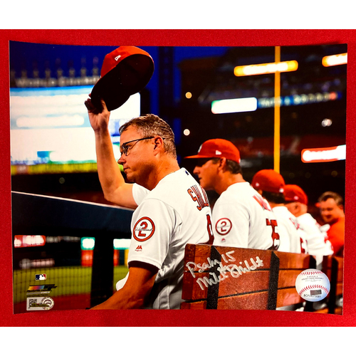 Photo of Mike Shildt Autographed Photo