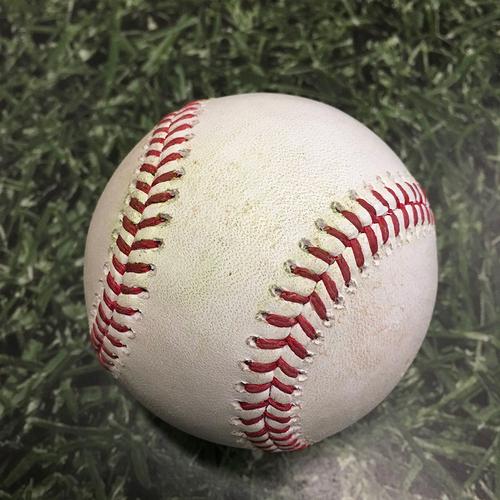 Photo of Game-Used Baseball ARI@MIL 06/03/21 - Devin Williams - Ketel Marte: RBI Single