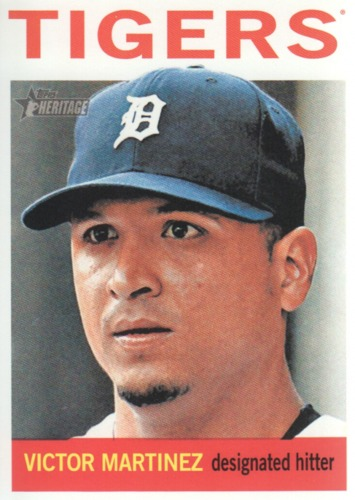 Photo of 2013 Topps Heritage #279 Victor Martinez
