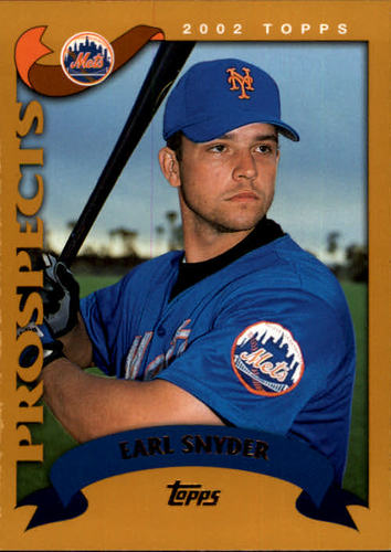 Photo of 2002 Topps #319 Earl Snyder PROS RC