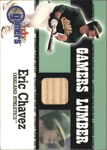 Photo of 2000 Fleer Gamers Lumber #12 Eric Chavez