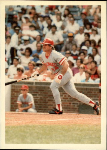 Photo of 1985 Topps Rose #28 Pete Rose/Natural Switcher