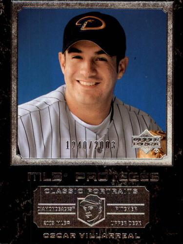 Photo of 2003 Upper Deck Classic Portraits #153 Oscar Villarreal MP RC
