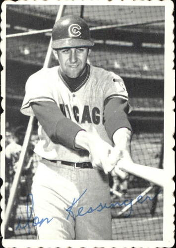 Photo of 1969 Topps Deckle Edge #18 Don Kessinger