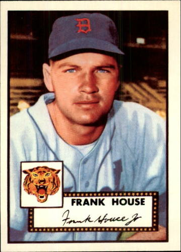 Photo of 1983 Topps 1952 Reprint #146 Frank House