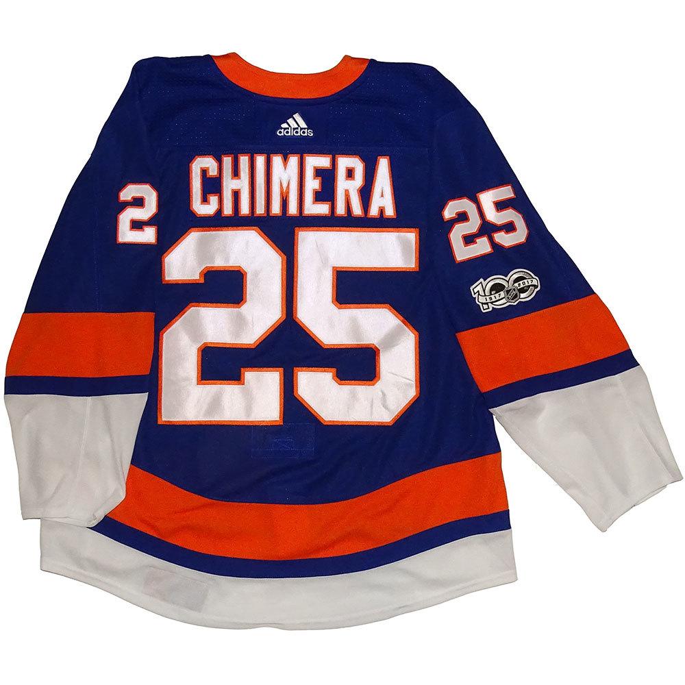 Jason Chimera - Game Worn Home Jersey - 2017-18 Season - New York Islanders