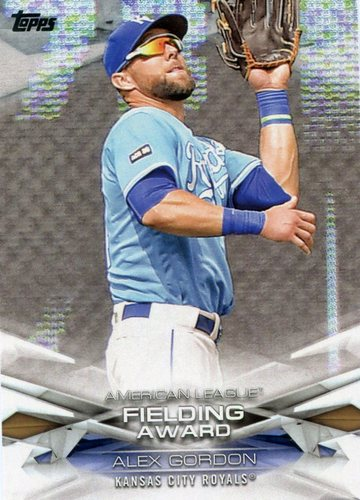 Photo of 2018 Topps MLB Awards #MLBA24 Alex Gordon