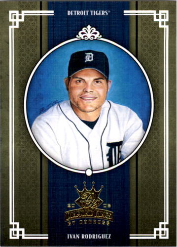 Photo of 2005 Diamond Kings #344 Ivan Rodriguez  -- Hall of Fame Class of 2017