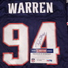 Patriots - Ty Warren signed replica jersey - Size L