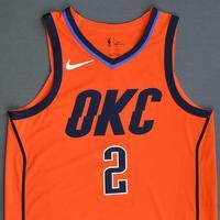 Raymond Felton - Oklahoma City Thunder - Game-Worn Earned Statement Edition Jersey - 2018-19 Season
