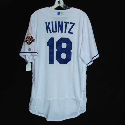 Photo of Team-Issued 50 Seasons Jersey: Rusty Kuntz (Size - 48)