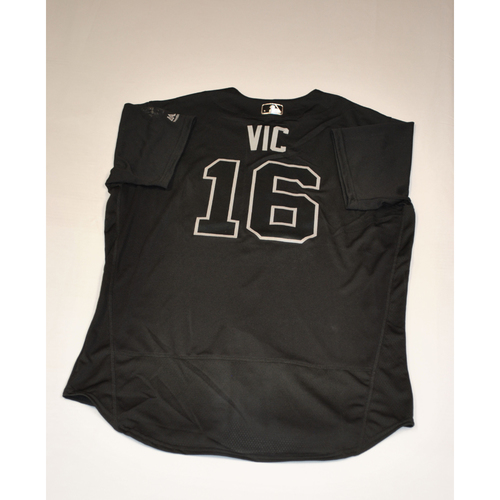 """Photo of Victor """"VIC"""" Robles Washington Nationals Game-Used 2019 Players' Weekend Jersey"""