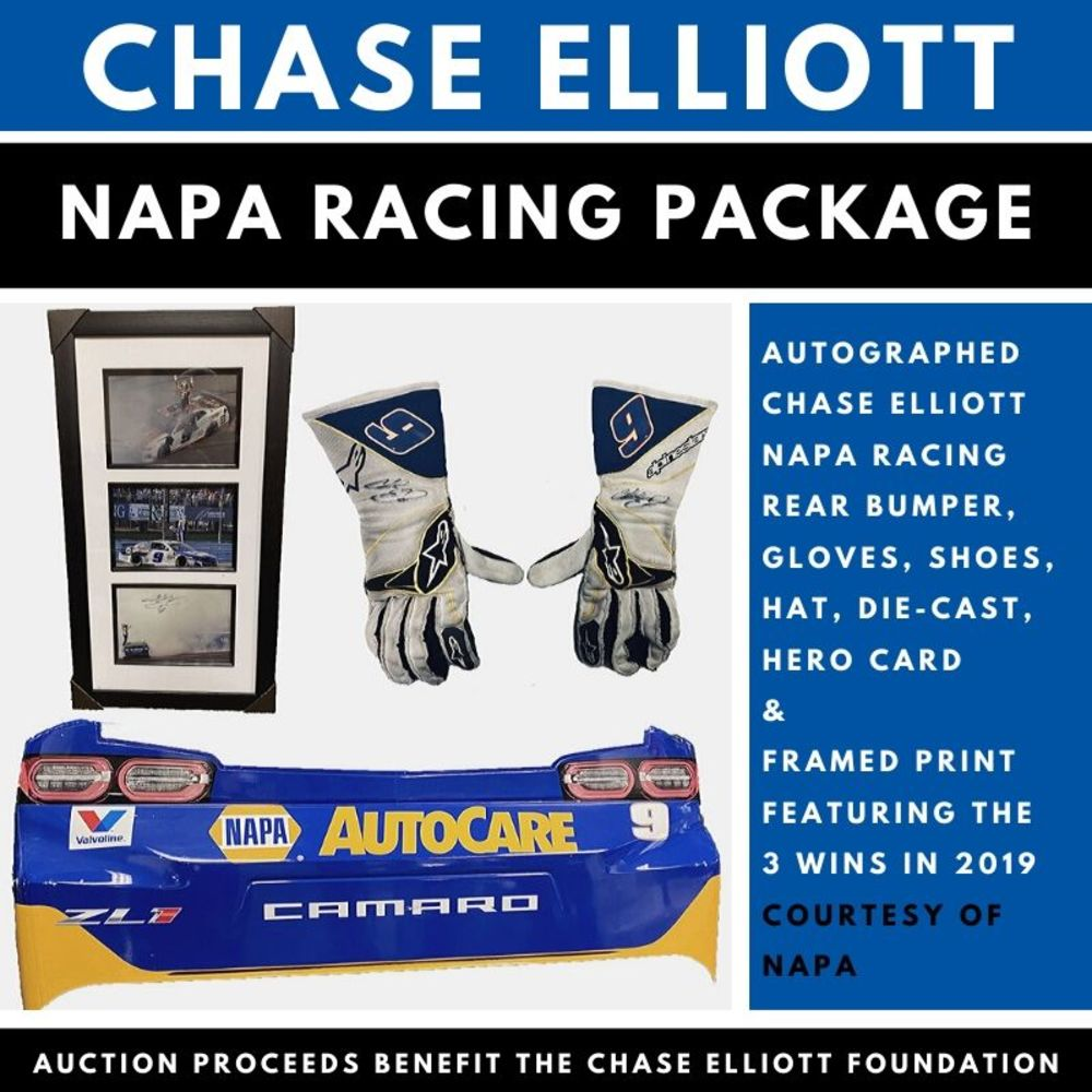 Chase Elliott NAPA Racing Package